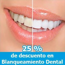 Descuento en blanqueamiento dental
